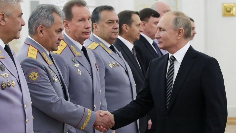普京解職11名俄強力機關高官 另授予16人將軍軍銜[圖集]|多維新聞|視覺