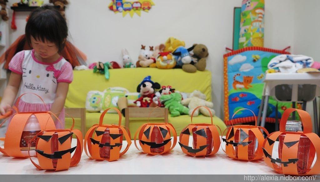 【萬聖節DIY】Trick or treat!和孩子一起動手做南瓜桶裝糖果吧! @alexia 想想 - nidBox親子盒子