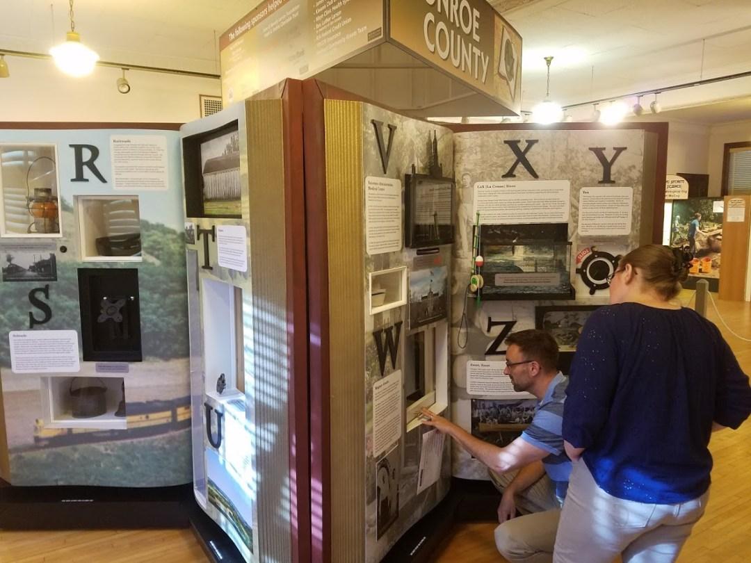 Monroe County A-Z Interactive Display