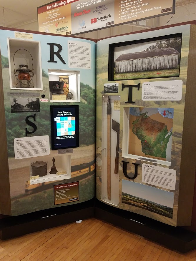 Interactive Exhibit Monroe County R-U Pages