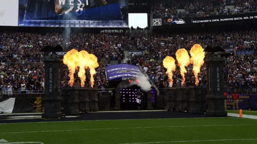 Foam Sculpting - NFL Player Intro Themed Props - Baltimore Ravens