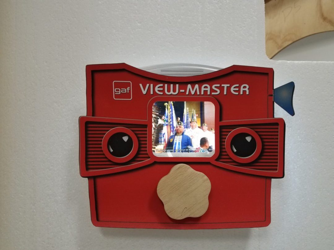 Interactive View Master Display