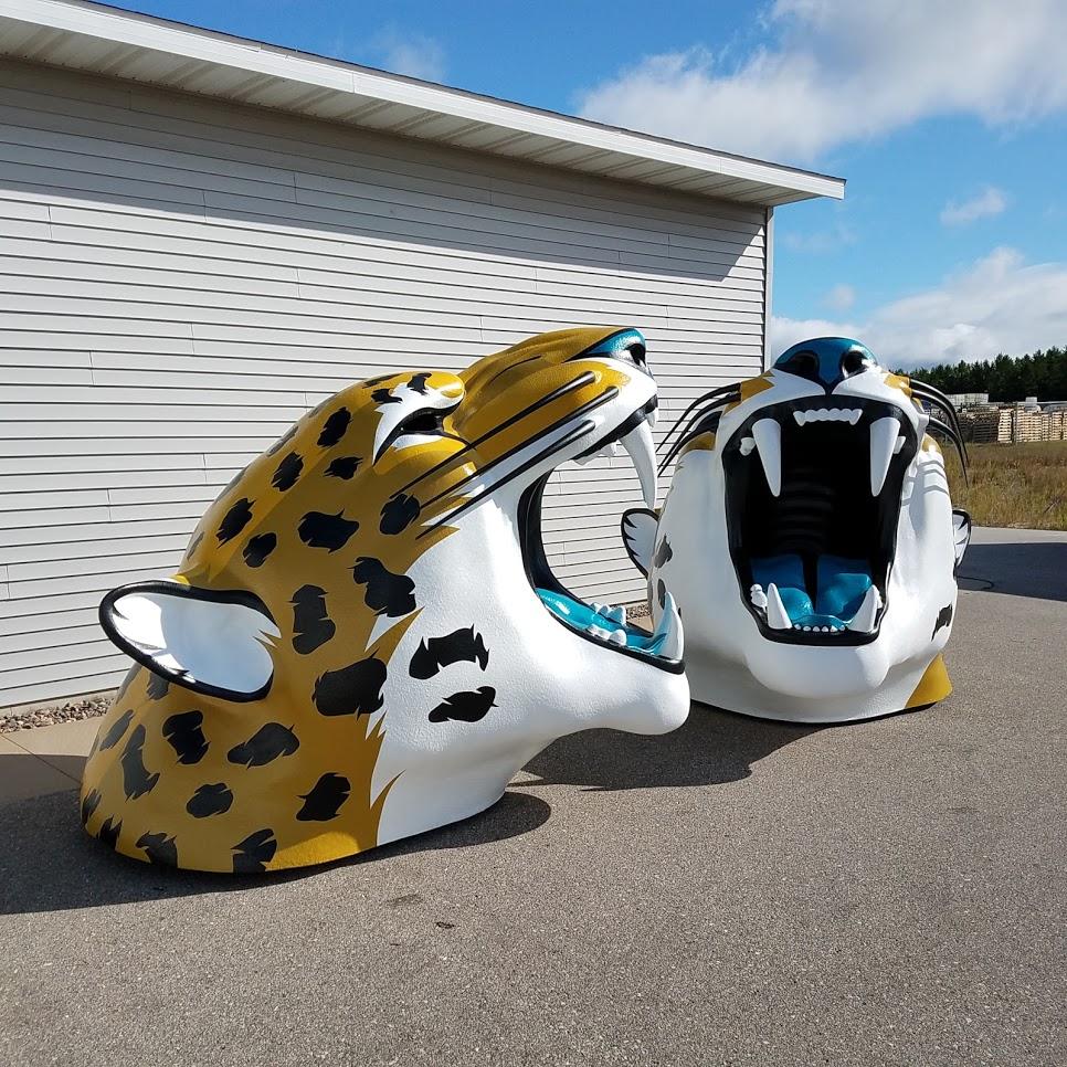 Fire Rated Foam Sculptures for Jacksonville Jaguars
