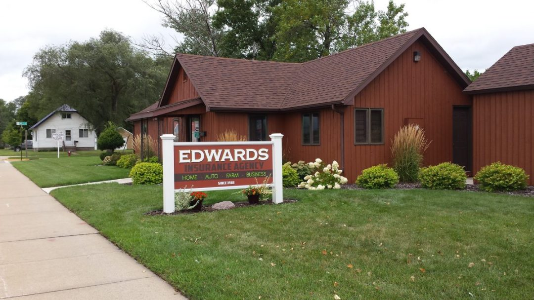 Signs - Layered Dimensional Letters -Edwards Insurance