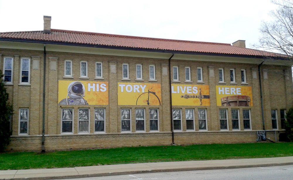 Monroe County Local History Room Banners