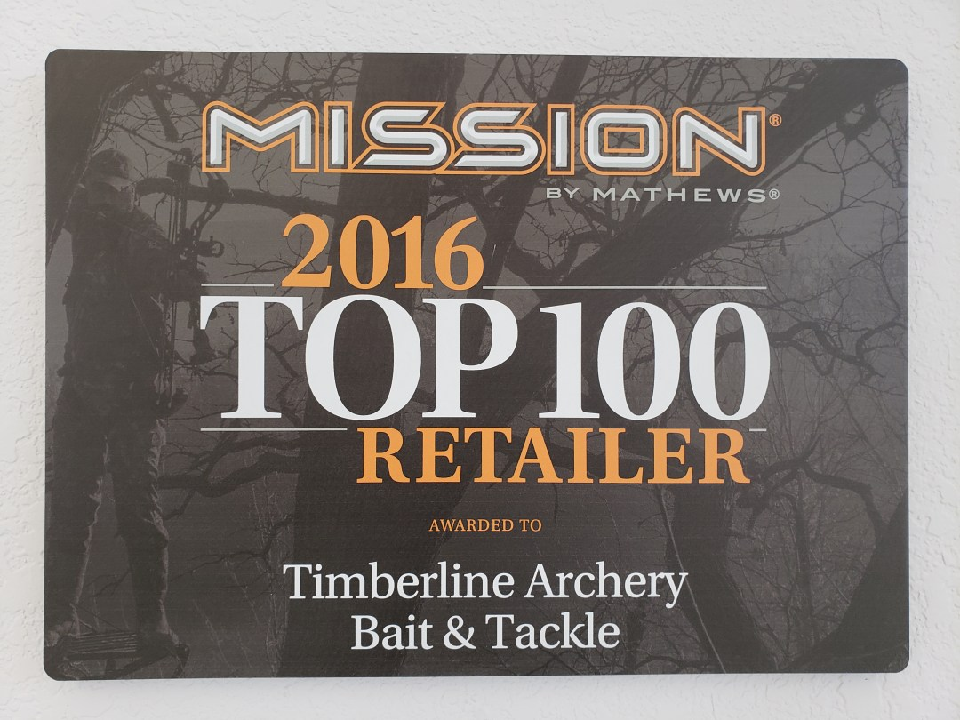 Mission 2016 Top 100 Retailer Plaques