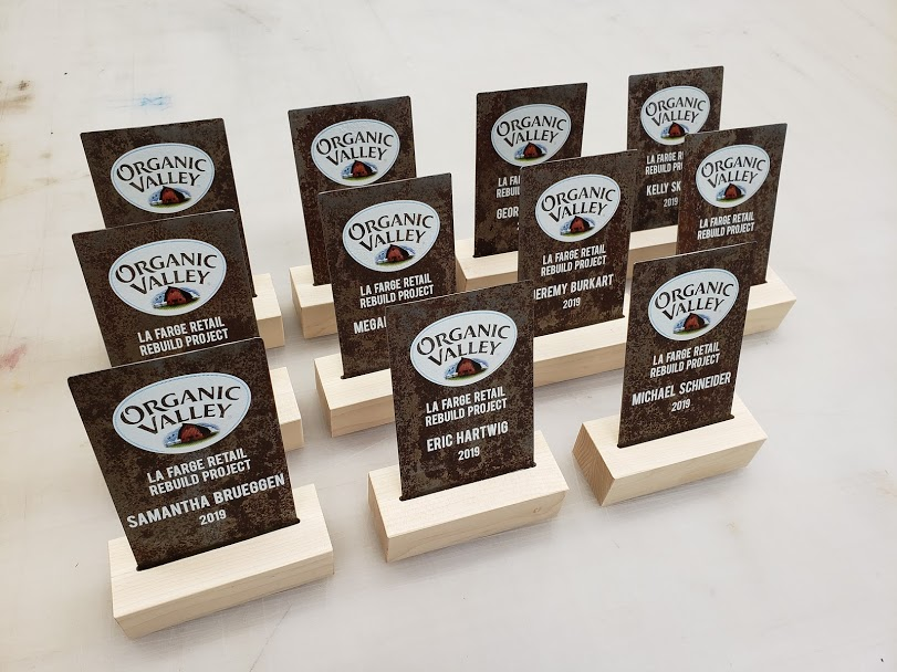 Organic Valley Award Design