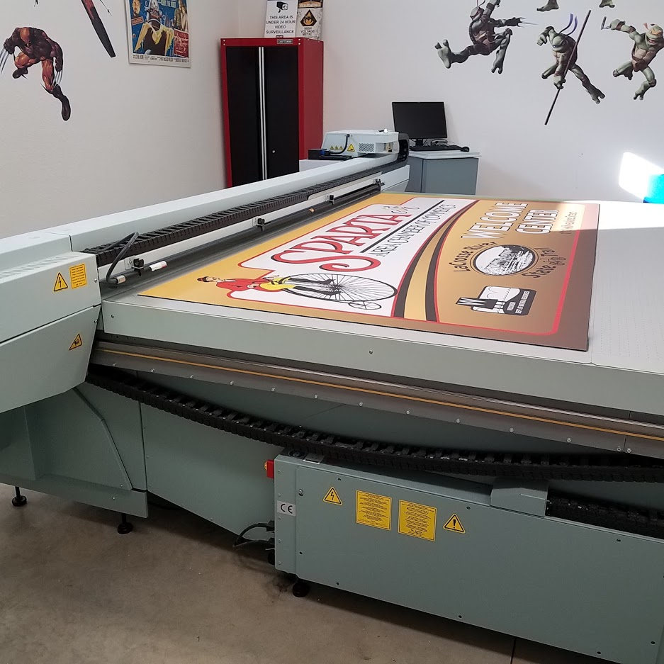 Printing on the Flat bed