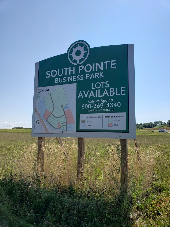 South Pointe Site Map Sign