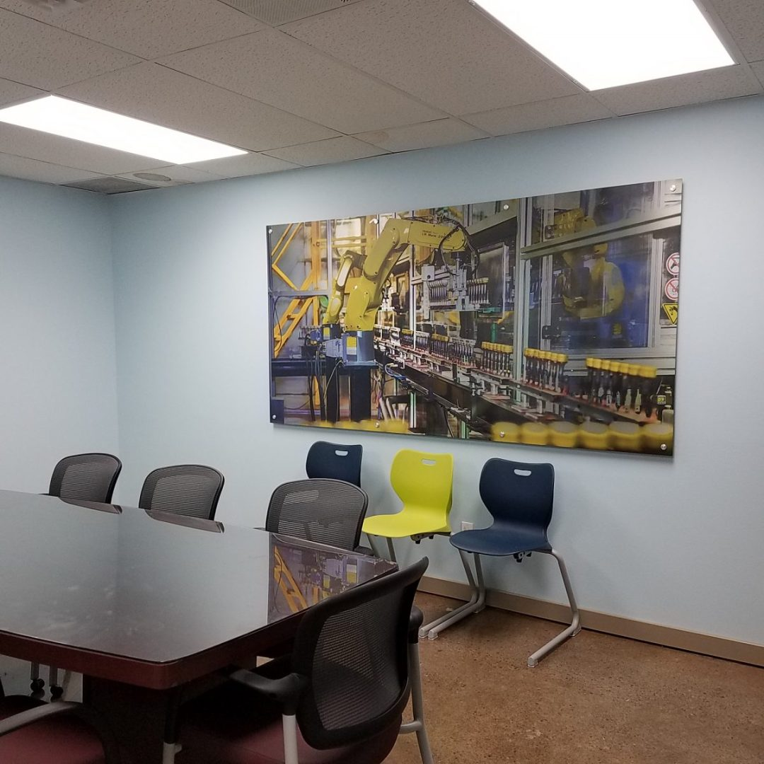 Spartek Conference Room  Metal Photo Print