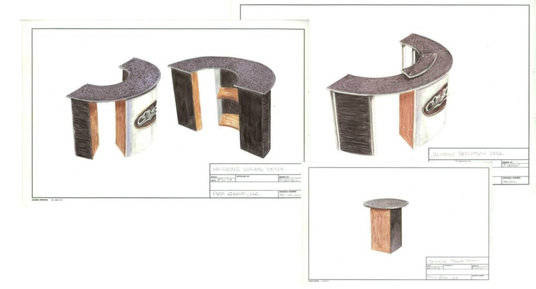 Industrial Design - Custom Trade Show Furniture