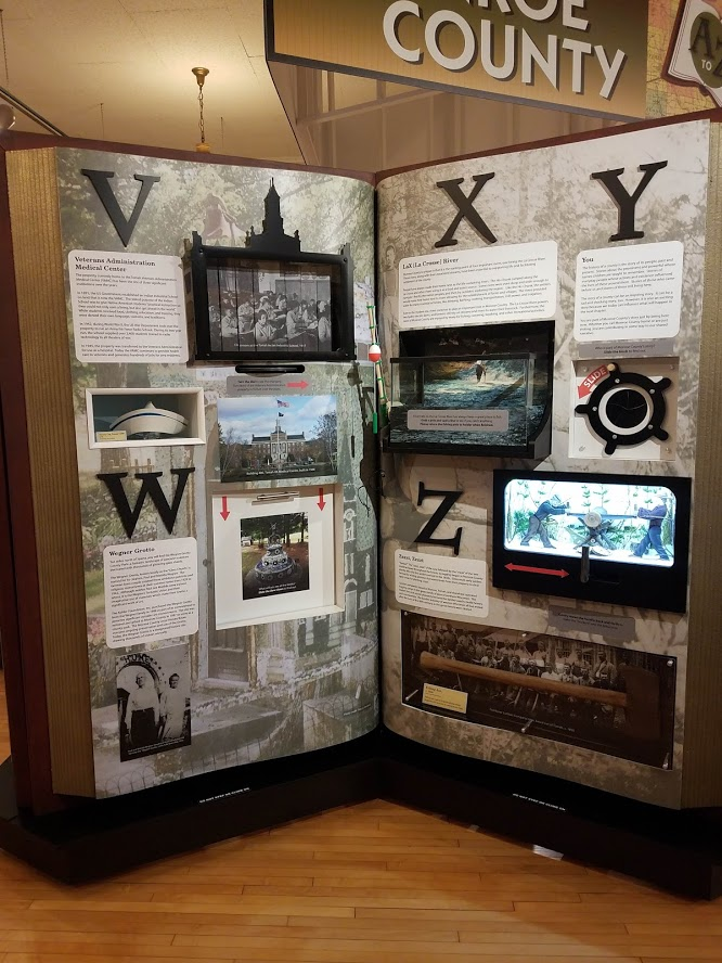 Museum Exhibit - V to Z