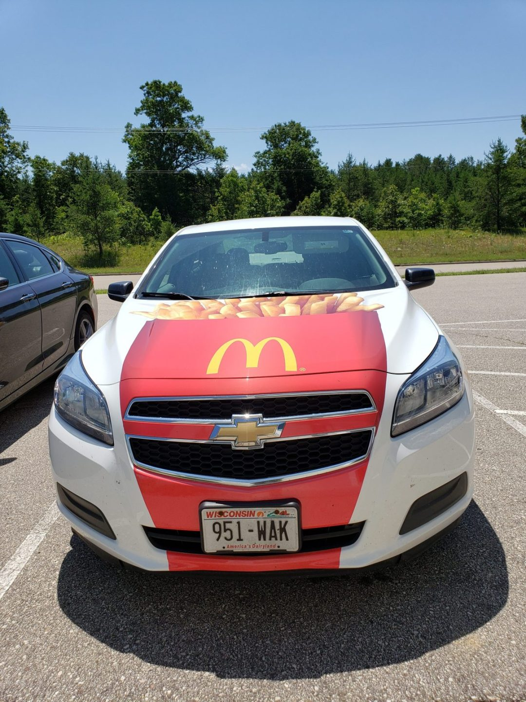 Mc Donalds Car Wrap Design