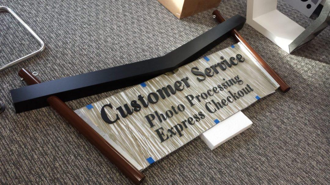 Siren Customer Service Sign