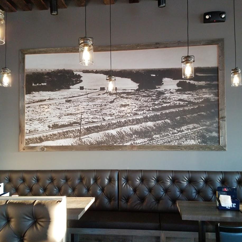 Davis Reay's Log Jam Framed Mural