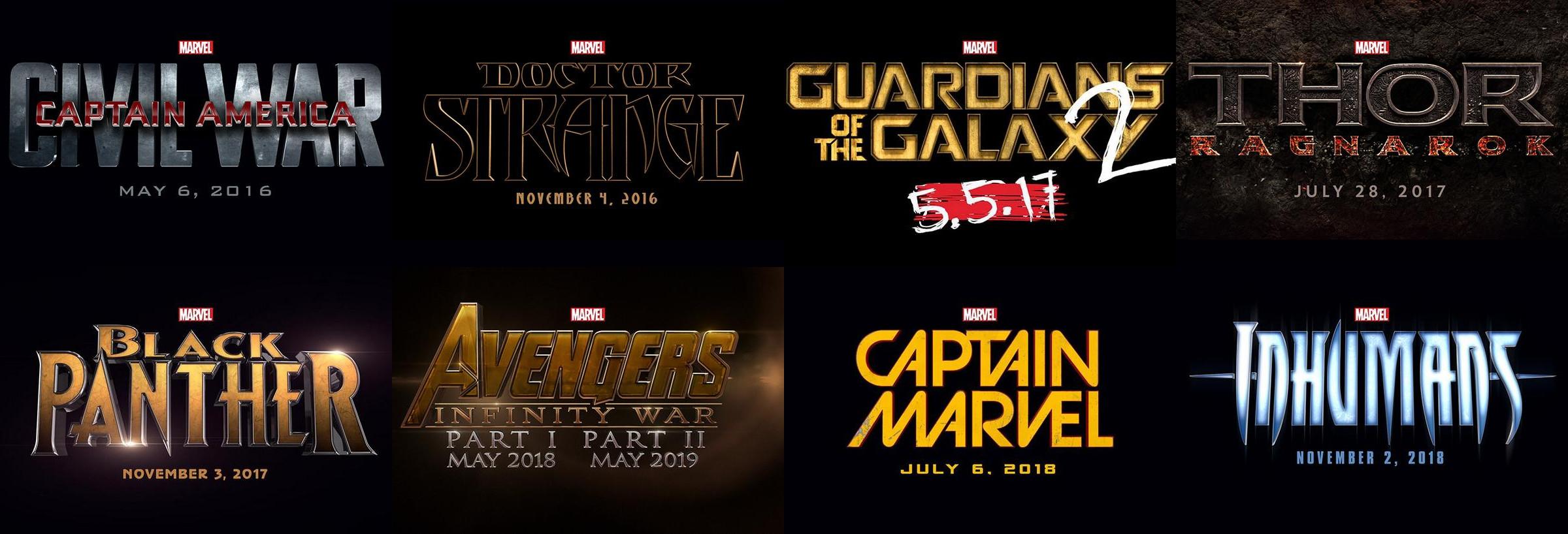 Fase 3 del universo cinematogrfico de Marvel  Picando Cdigo