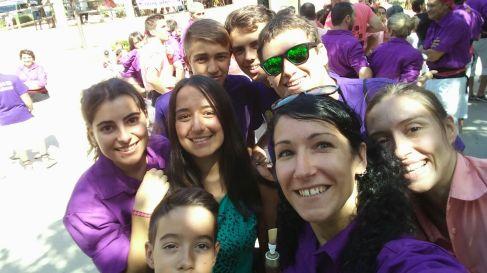 Grallers a la plaça - Sta Maria d'Oló