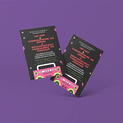 École de danse – Brochure