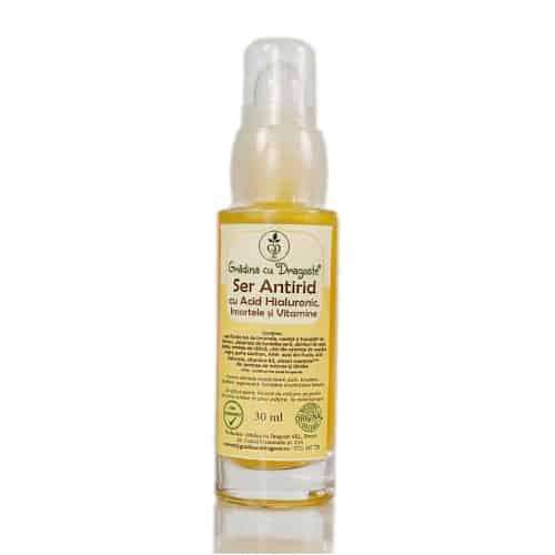 Ser Antirid cu Acid Hialuronic și Imortele