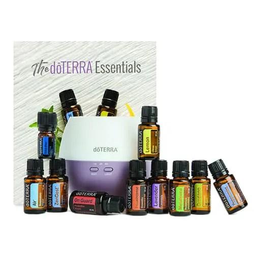 Kit Uleiuri Esentiale Home Essentials doTerra