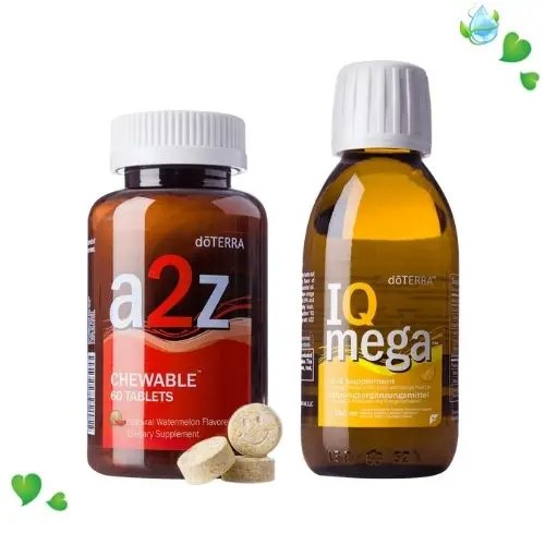 Vitamine A2Z și IQ Mega