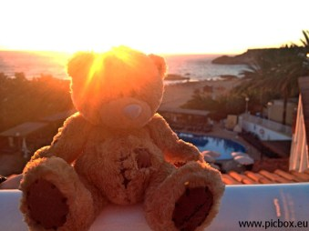 Ted in Ibiza