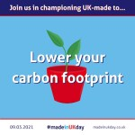 Made in UK Day: Lower your carbon footprint