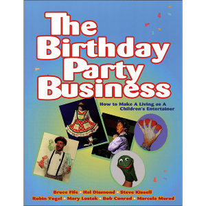 Birthday Party Business Front Cover
