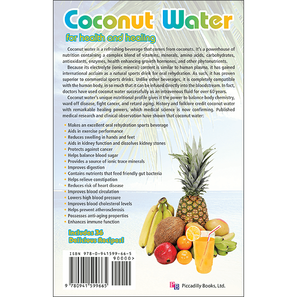 Coconut Water Nautilas Back Cover