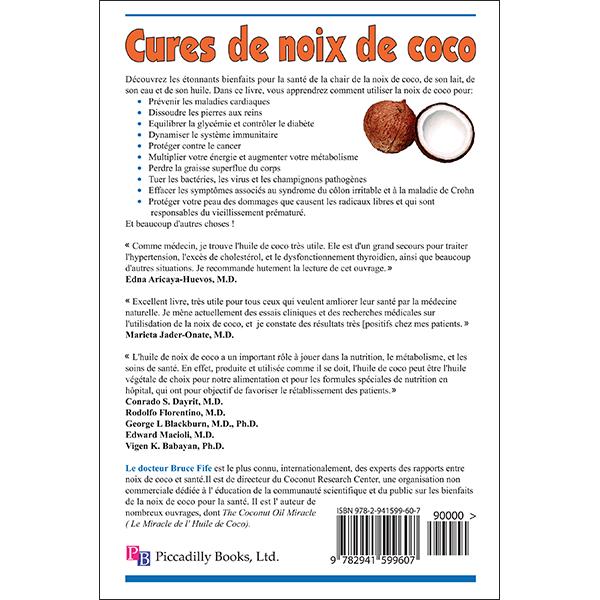 Cures de Noix de Coco Back Cover