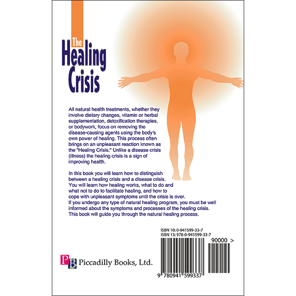 Healing Crisis Back Cover