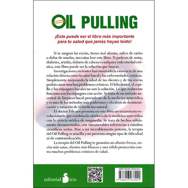 Oil Pulling Spanish Back Cover