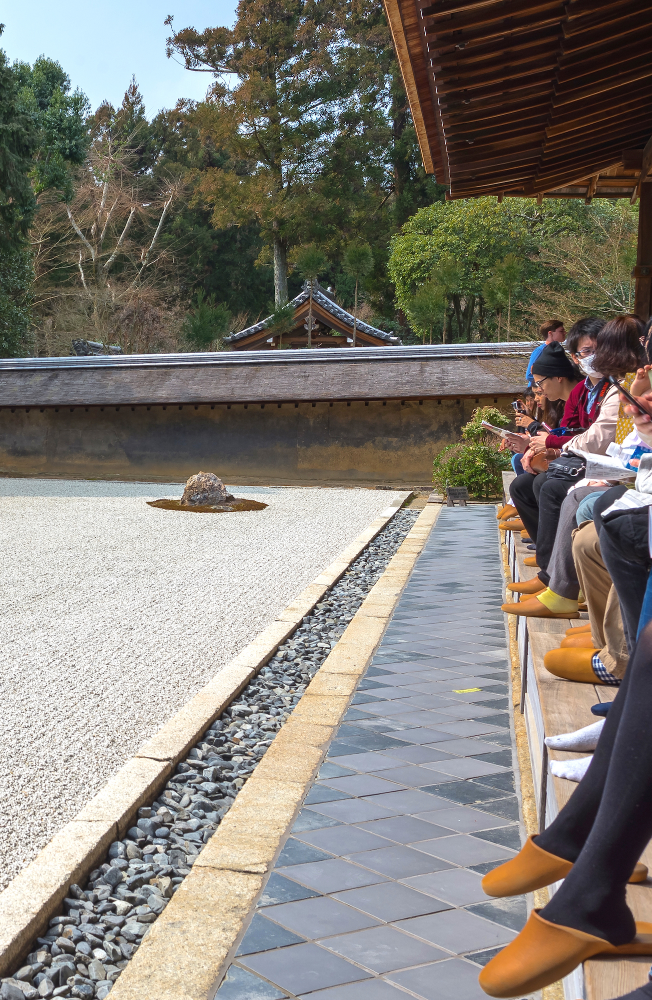 Ryoanji Temple: Japanese Rock Garden