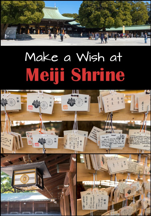 Make a Wish at Meiji Shrine