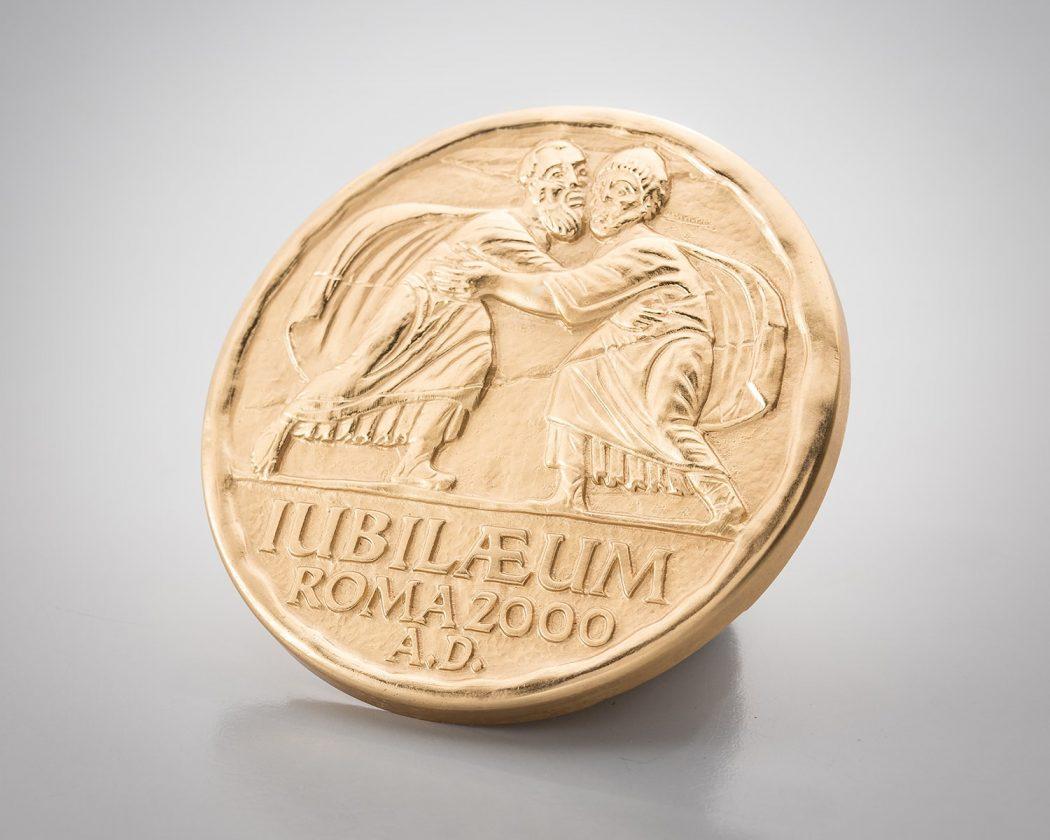 medaglia giubileo 2000