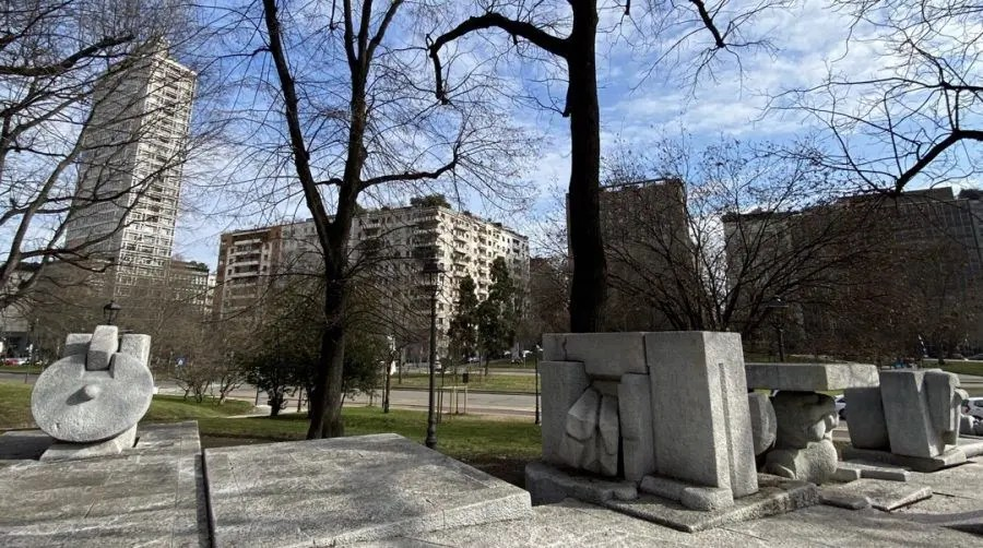 Monumento a Mazzini di Pietro Cascella