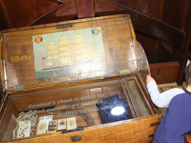 Cutty Sark Seaman's Chest