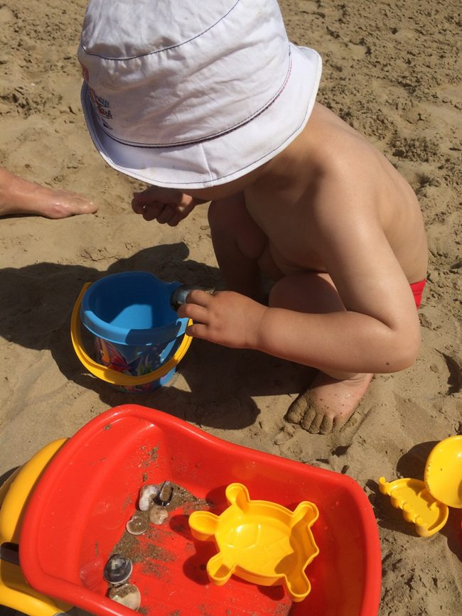 Playing at the Beach Fano