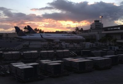 Flying United Airlines to Honolulu