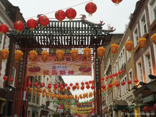 Chinatown London Chinese New Year 2015