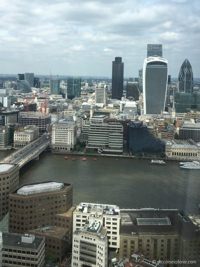 View from Hutong at the Shard