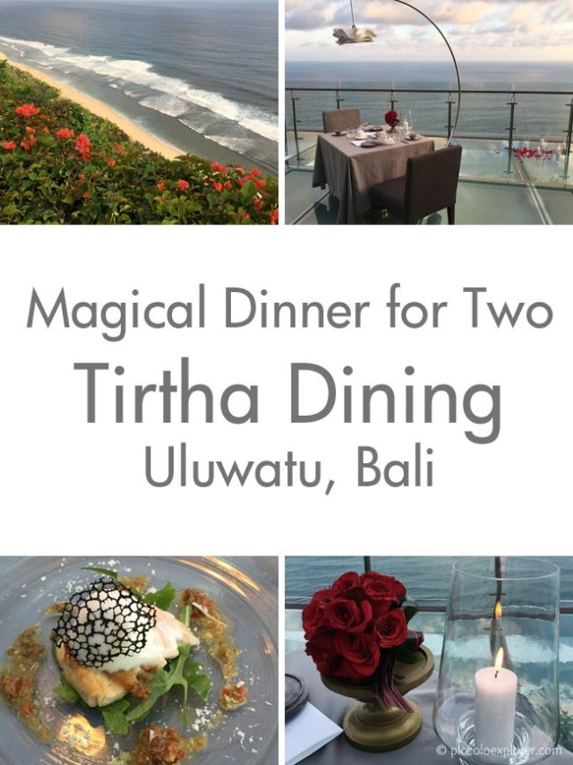 Pin it for later: Tirtha Uluwatu Magical Dinner for Two Experience