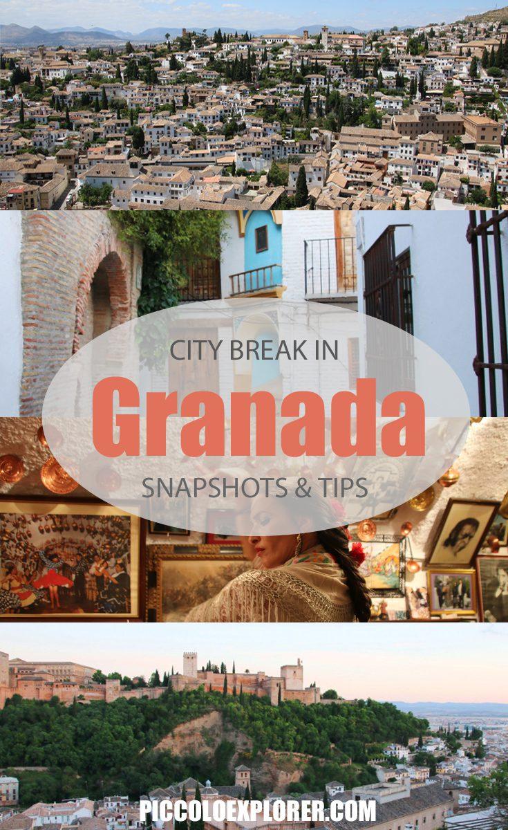 City Break in Granada Spain