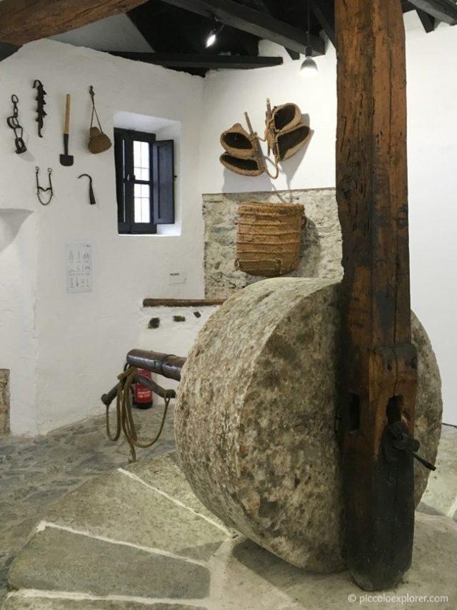 15th century oil mill at Museo Almazara de los Laerillas, Nigüelas