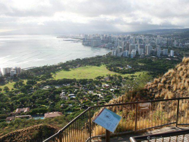 View of Honolulu from Diamond Head