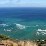 View of the Pacific Ocean from Diamond Head