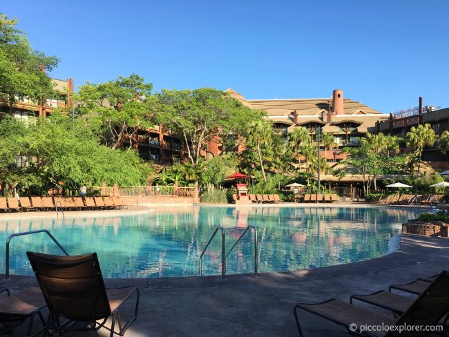 Swimming Pool at Jambo House, Animal Kingdom Lodge, Orlando
