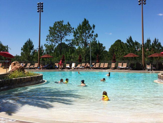 Zero Entry Swimming Pool, Kidani Village, Animal Kingdom Lodge