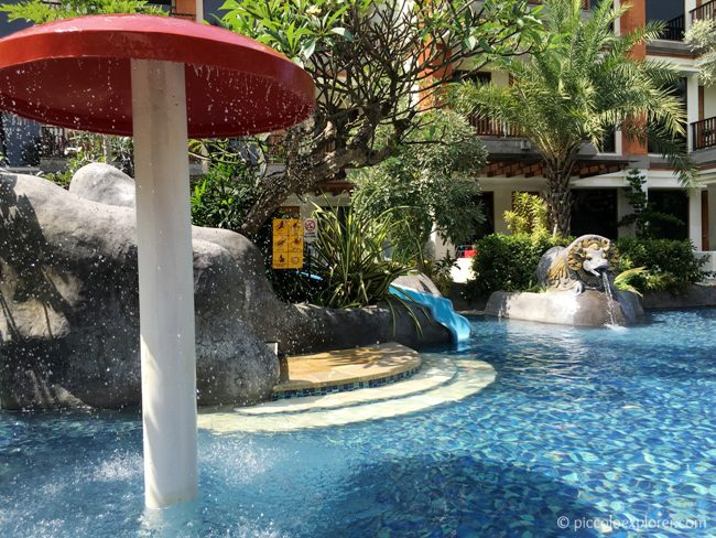 Kid's Pool, Padma Resort Legian, Bali