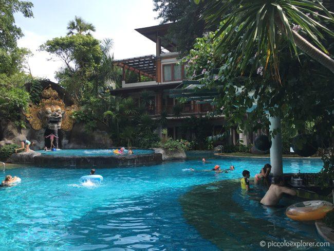 Lagoon Pool, Padma Resort Legian, Bali